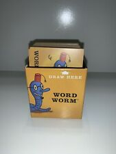 CRANIUM Wow Game Replacement Pieces Word Worm Card Deck