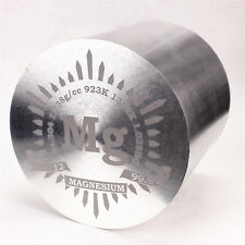 1Kg Fine Turning Magnesium Metal Cylinder dia.91×91mm 99.99% Marked Period Table