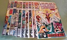 Avengers West Coast #71-80 (1985, Marvel)
