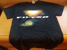 "Filter Concert T-Shirt ""The Sun Comes Out Tonight"" Tour - 2013 Small"