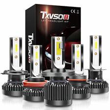 200W 30000LM Coche CREE Bombillas de faros LED H1 H7 H8 H9 H11 9005/6 Kit Xenon