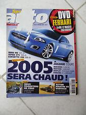 Sport Auto n°517 Bmw Z4 Morgan Roadster Pagani Zonda Murcielago Ferrari Jaguar