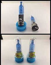 2x BA20D Natural White halogen lamp Bulbs 50W 4500-5000K Car Head Light Lamp 12V