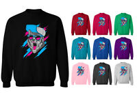 Insanity Wolf Retro Hip Hop Meme Unisex Sweater Sweatshirt Jumper NEW