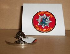 Oxfordshire Fire and Rescue Service Lapel pin badge