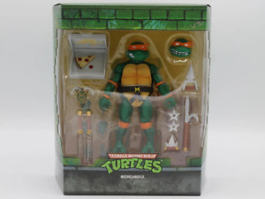 Super7 TMNT Ultimates Michelangelo SEALED IN STOCK