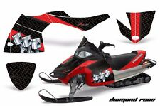 AMR Racing Sled Wrap Polaris Fusion Snowmobile Graphics Kit 2005-2007 DMND RACE