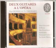 Deux Guitares A L'Opera - Duo Horreaux-Trehard . French CD.