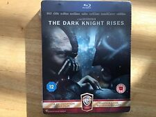 Dark Knight Rises - UK Limited Edition Steelbook - New/Sealed