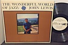 JOHN LEWIS The Wonderful World Of Jazz 1961 ATLANTIC WLP MONO Dolphy Golson