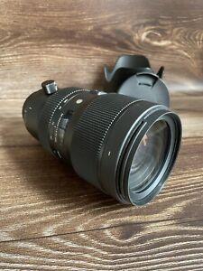 """Sigma 50-100mm f1.8 DC HSM Art Lens - Nikon Fit """"Excellent Condition"""""""