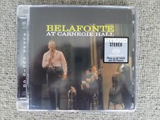 Hybrid SACD - Harry Belafonte - Belafonte At Carnegie Hall -  New Sealed