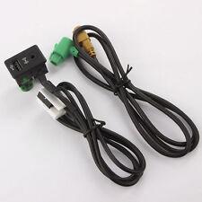 Branchez Switch USB AUX câble Pour VW Volkswagen Touran Tiguan RCD510 RCD300