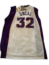 New Shaquille O'Neal Phoenix Suns Mens 2X Adidas White Swingman Rare Jersey NWT