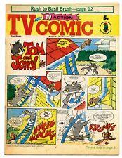 TV Comic 1136 (Sept 22 1973) Doctor Who, Pink Panther, Tarzan. Laurel & Hardy...