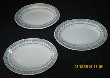 Greenwood Pottery for Albert Pick and Co.  Oval Side Plates   Set of 3