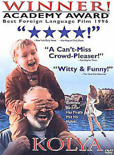 KOLYA rare Czech dvd Academy Award ZDENEK SVERAK 1996 Excellent