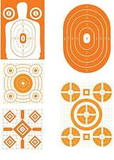 Super Value Orange Variety Pack #2 Pistol & Rifle Shooting Targets -66 Qty.