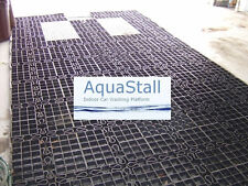"AquaStall Indoor Car Wash Platform 19'6"" X 9'6"" Commercial HD"