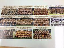 2011 Hawthorn 5 Decades Of Premierships Post Card Set (11)