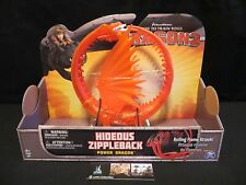 How to Train Your Dragon 2 Hideous Zippleback Power Dragon Red spinmaster toy