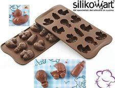 STAMPO CIOCCOLATINI IN SILICONE N.12 CHOCO BABY della linea Easy Choc SILIKOMART