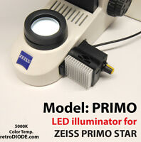 LED retrofit for Zeiss Primo Star Microscopes