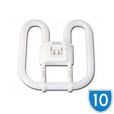 10 Pack Fluorescent Tube Light Butterfly Bulb 16 Watt 2D Lamp 2 Pin 3500k 16w