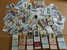 More details for a job lot of cigarette cards in albums and loose. please see description.