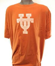 Mens Authentic Apparel Univ of Texas Longhorns Ncaa Rust White Logo Tee T-Shirt