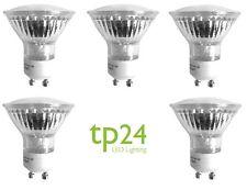 5x TP24 3.5wW GU10 Regulable Bombilla LED Cálido Blanco 330 lumens L1 Tapón