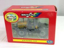 Vintage 1997 Ertl Britains Farm Models 1:32 JCB Fastrac 1135 Toy Tractor Yellow