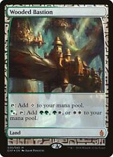 Bastion Boisé PREMIUM / FOIL - Wooded Bastion - Zendikar Expeditions - Magic Mtg