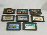 Lot of 8 Gameboy Advance Games Game Boy ADV Nintendo GBA