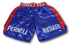 Pernell Whitaker Signed Autographed Sweet Pea Boxing Trunks JSA W995147