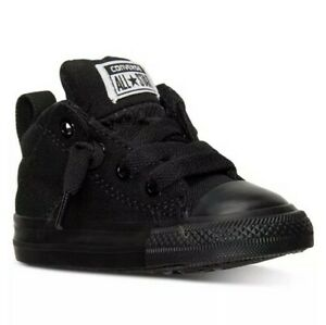 New Converse Chuck Taylor All Star Axel MID Toddler Boy's Shoes Size Black 9