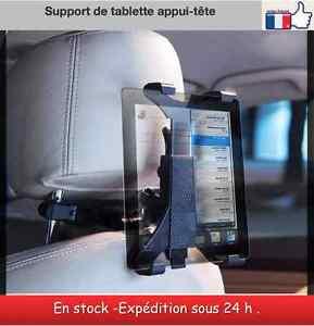 Support de tablette appui tête voiture iPad samsung galaxy