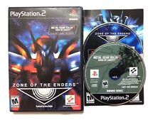 Zone of the Enders Ps2 (Sony PlayStation 2, 2001) Complete cib