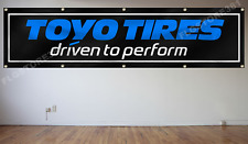 Toyo Tires Flag 2X8Ft Racing Tire Sign Flag Large Banner