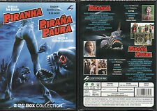 PIRANHA + PIRANA PAURA - BOX COLLECTION 2 DVD (NUOVO SIGILLATO)