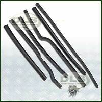 RH Front Door Seal Kit Land Rover Series 2/2a/3 6 pieces and Rivets (DA1494)