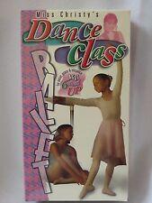 Miss Christy's Dance Class Ballet Beginner Dance Instruction NEW VHS Children