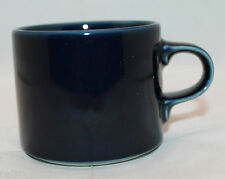 Vintage Dansk Flora Navy Blue 1 Coffee Tea Mug Cup Denmark International Design
