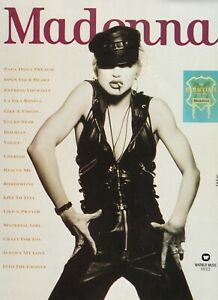 1990 MADONNA / The Immaculate Collection / Music Album Original Print Ad !!