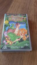 THE LAND BEFORE TIME THE STONE OF COLD FIRE VHS VIDEO
