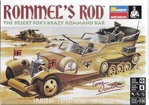 BL Monogram Re-Issue Rommel's Rod, Krazy Kommand Kar! 1/24 85- 4484 ST