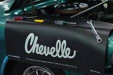 Chevy Black Chevelle car mechanics fender cover paint protector vintage style