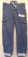 """G Funk 323 Denim Jeans con Polsini Girovita Taglia 28"""" gamba circa 28"""""""