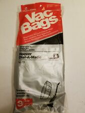 Home Care Vac Bags #19 Hoover Dial-a-Matic Type D Vacuum Bags-3 Pack