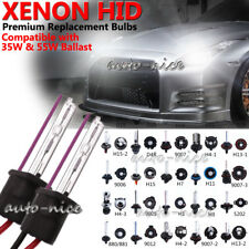 2Pcs 35W 55W Xenon Super Vision HID Headlight Lamp Replacement Bulbs 9005 9006